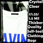Внешний вид - 100 ~9x12 Plastic Bags Self Adhesive T-Shirt Apparel Dress Clothes Packing Poly