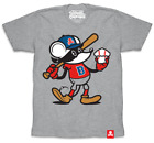 BOSTON EXCLUSIVE Johnny Cupcakes (Men's) T-Shirt: Baseball Mouse