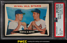 1960 Topps Miceky Mantle & Ken Boyer RIVAL ALL-STARS #160 PSA 4 VGEX (PWCC)