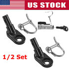 1/2Set Bike Bicycle Trailer Coupler Attachment Angled Elbow for InStep & Schwinn
