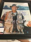 AUTOGRAPHED CHEVY CHASE 16X20 PHOTO FRAMED  PSA CERTIFIED SIGNED