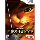 RESEALEDby distributor USED Puss in Boots Wii Free shipping US version Authentic