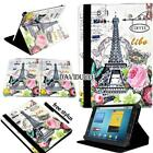 """For Various 7"""" ZTE Tablet - Folio Stand Leather Cover Case + Stylus"""