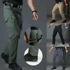 Mens Tactical Pants Combat Quick Dry Lightweight Waterproof Sports Cargo Hiking
