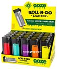 """FULL DISPLAY 25pcs Ooze """"Roll-N-Go"""" Lighter Hidden Smell Proof Stash Compartment"""
