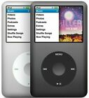 Apple iPod Classic 5th 6th 7th Gen Black Gray Silver 30GB 60GB 80GB 120GB 160GB