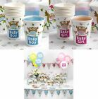 8 LITTLE OWLS PAPER CUPS BABY SHOWER BOY GIRL PINK BLUE PARTY BIRTHDAY PARTYWARE