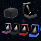 Exquisite Engagement Wedding Led Lighted Ring Boxes Pendant Jewelry Storage