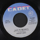 RAMSEY LEWIS: Back To The Roots / We've Only Just Begun 45 (sl warp, dnap, fain