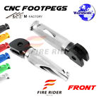 For Triumph Daytona 750 1992-1993 92 93 FRW CNC Billet Front Footpegs $28.69 USD on eBay