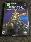 UNREAL TOURNAMENT - PS2 - WITH MANUAL - FREE S/H - (T)