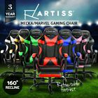 Artiss Gaming Chair Office Executive Computer Chairs Footrest Racing Recliner