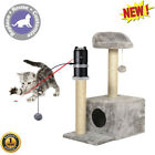 360° Auto Rotate Laser Motion Topper Cat Pet Toys Furniture Scratching Post 2019
