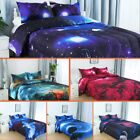 Twin/Full/Queen Galaxies Comforter Set All-season Down Quilted Duvet Reversible image