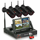 ANRAN Outdoor Security Wifi Camera System CCTV 1080P HD 4/8CH NVR Wireless Night