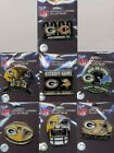 Packers 2008 Game Day Pin Choice 7 pins Green Bay Cowboys Vikings Texans Bears + on eBay