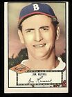 Jim Russell of the Dodgers on a 1952 Topps BB card #51 in EX condition