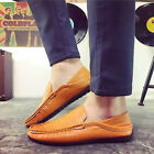 Fashion Men's Casual Oxford Leather Shoes Pointed Wedding Formal Dress Shoes