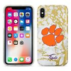 Clemson Tigers Marble iPhone X Case
