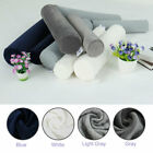 Round Memory Foam Pillow Cervical Roll Neck Support Pillow Knee Lumbar Bolster image