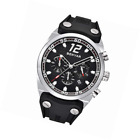 BENYAR Watches Men Chronograph 3ATM Waterproof Sport Fashion Silicone Band Silve