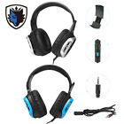 Sades Gaming Headset Stereo Headphone 3.5mm Mic For PS4 Xboxone PC Latop P3I8