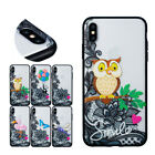 Cute Printing Thin Anti-Scratch Transparant Back Case For iPhon Xs Max 7 8 Plus