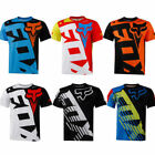 Fox race Riding Jersey T-shirts Men Motocross/MX/ATV/BMX/MTB Dirt Bike 2019 gift
