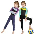 2.5mm Kids Diving Suit Child Wetsuit One-Piece Long Sleeves Swimwear For Diving
