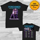 Foreigner Cold As Ice Tour dates 2019 T-Shirt Size Men Black Gildan tee Shirt image