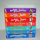 Dsiney Sing Along Songs VHS Lot of 7 Beach Party - Love to Laugh - Fun Music