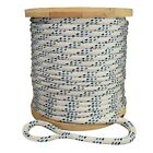 "Strongest Double Braid Polyester Cable Wire Pull Pulling Rope W/ 6"" Spliced Eyes"