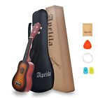 Купить 21 inch Apelila Soprano Ukulele 4 Strings Instrument Mini Acoustic Guitar w/ Bag