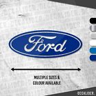 Ford Badge Sticker / Decal - Multiple Colours & Sizes Available - Tractor - Car
