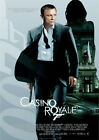 CASINO ROYALE 2006 James Bond, Daniel Craig, Judi Dench – Cinema Poster Art £9.4 GBP on eBay