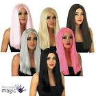 Adults Classic Halloween Long Straight Sexy Fancy Dress Costume Accessory Wig
