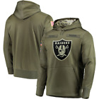 Oakland Raiders NFL Olive Salute to Service Hoodie 2019 American Football USA on eBay
