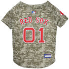 Boston Red Sox MLB Dog Pet Camo Hunting Jersey (all sizes)