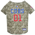 Chicago Cubs MLB Dog Pet Camo Hunting Jersey (all sizes)