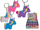 Poo Poo Unicorn Keychain - Squeeze Poop Key Ring Girls Toy Gift Birthday Party