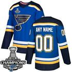 St Louis Blues CUSTOM Jersey Choose Name and Number