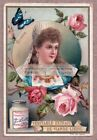 Beautiful Young Russian - Russland  - Russie Girl 100+ Y/O Trade Ad Card m