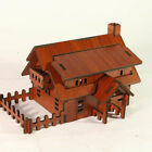 Puzzle Wooden House Pattern Puzzles Children Intelligence DIY Adults Toys 3D L