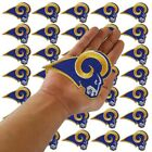 """Wholesale Los Angeles Rams Football Size 3.8""""x2.7"""" Sew Iron on Embroidered Patch $28.26 CAD on eBay"""