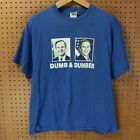 vtg George Bush father & son dumb & dumber t-shirt LARGE 90's 00's politics