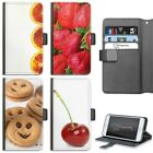 STRAWBERRY PHONE CASE IPHONE 6,7,8 PLUS, X LEATHER FLIP CASE COVER FOR APPLE