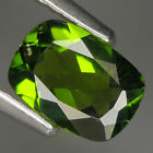 0.79 Ct Natural Africa Green CAROME DIOPSIDE  Octagon Gem @ See Video!