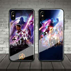 Avengers 4 Endgame MCU 2019 film Tempered Glass Shell Cover Phone Case Soft