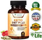 KETO DIET PILLS Weight Loss Capsules 1200 mg Fat Burner w/ Raspberry Ketones $10.51 USD on eBay
