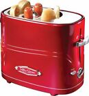 Nostalgia Electrics - Retro Series Pop-Up Hot Dog Toaster - Red